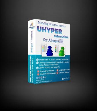 UHYPER porous elastomers abaqus