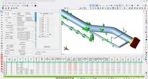 Pipeline stress analysis with CAESAR II software
