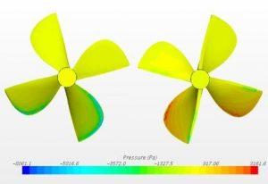 Semi-submersible propeller design