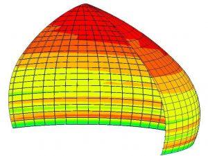 FRP composite dome