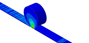 Hot and cold rolling simulation ABAQUS