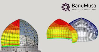 FRP composite domes
