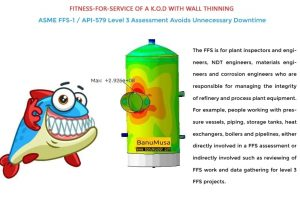 Level 3 fitness for service assessment of kod