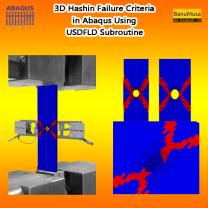 3d hashin failure criteria in abaqus using usdfld subroutine - BanuMusa